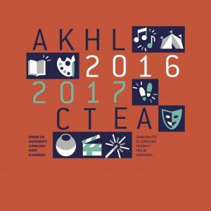 AKHLK Liburuxka 2016-2017 Livret CTEA 2016-2017