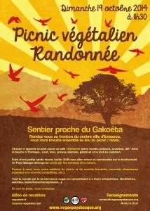 Picnic végétalien et randonnée à Gakoéta - Gakoetan piknik beganoa eta ibilaldia
