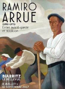 exposition Ramiro Arrue erakusketa